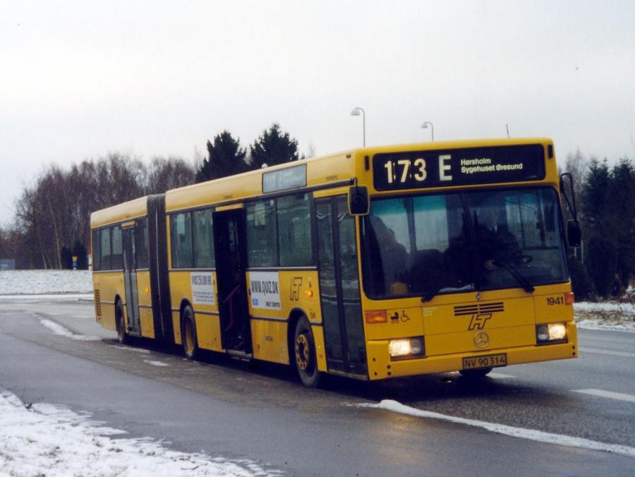Arriva 1941/NV90314 på Hørsholm Kongevej den 25. januar 2000