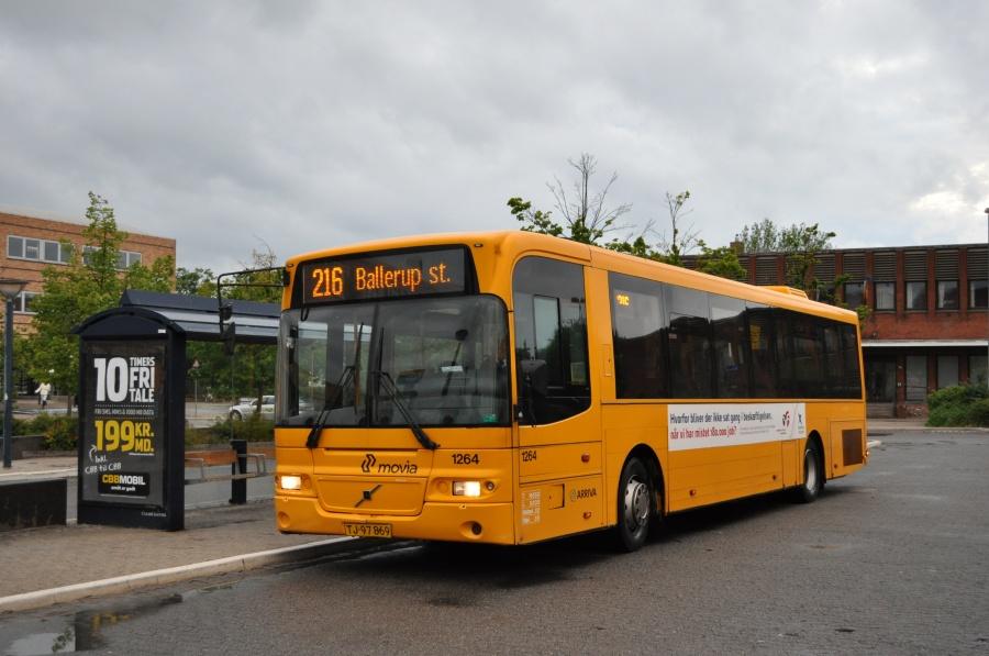 Arriva 1264/TJ97869 på Ballerup Station den 27. maj 2011