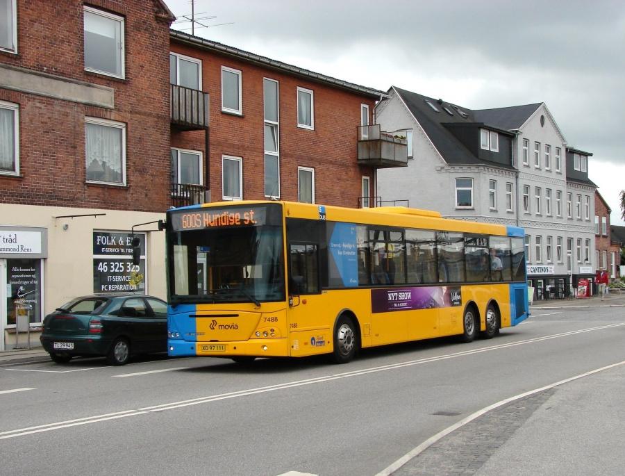 Fjordbus 7488/XD97111 på Køgevej i Roskilde den 1. juli 2011