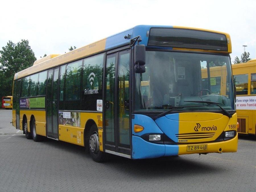 Arriva 1555/TZ89448 i Gladsaxe garage den 28. maj 2011