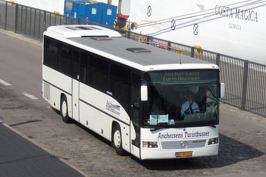 Anchersens Turistbusser BF90264 ved Langelinie i København den 2. juli 2011