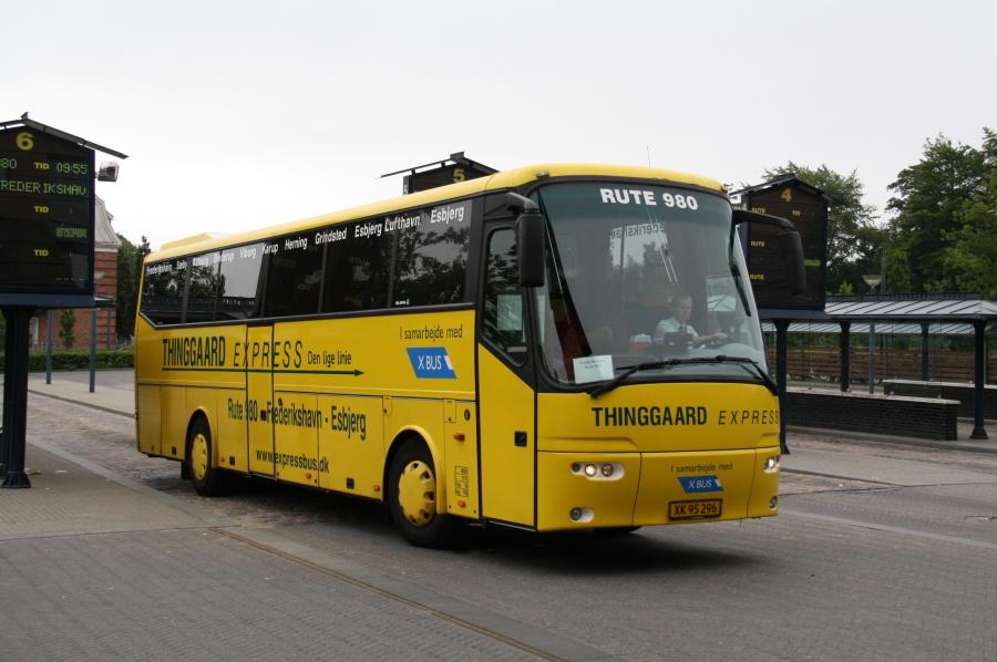 Hjørring Citybus XK95296 på Viborg Rutebilstation den 5. juli 2011