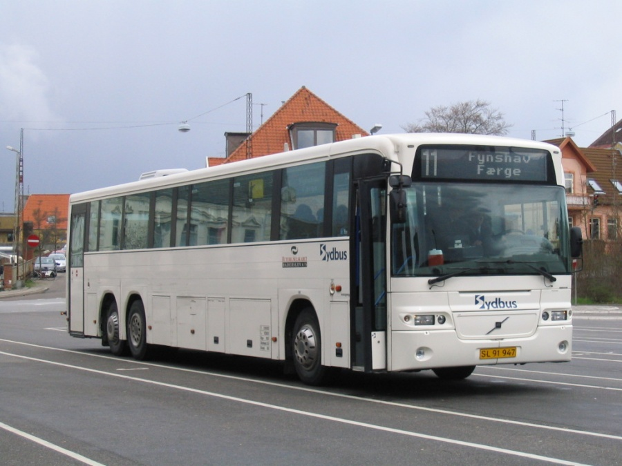 Rutebilselskabet Haderslev SL91947 på Sønderborg Busstation den 29. april 2006