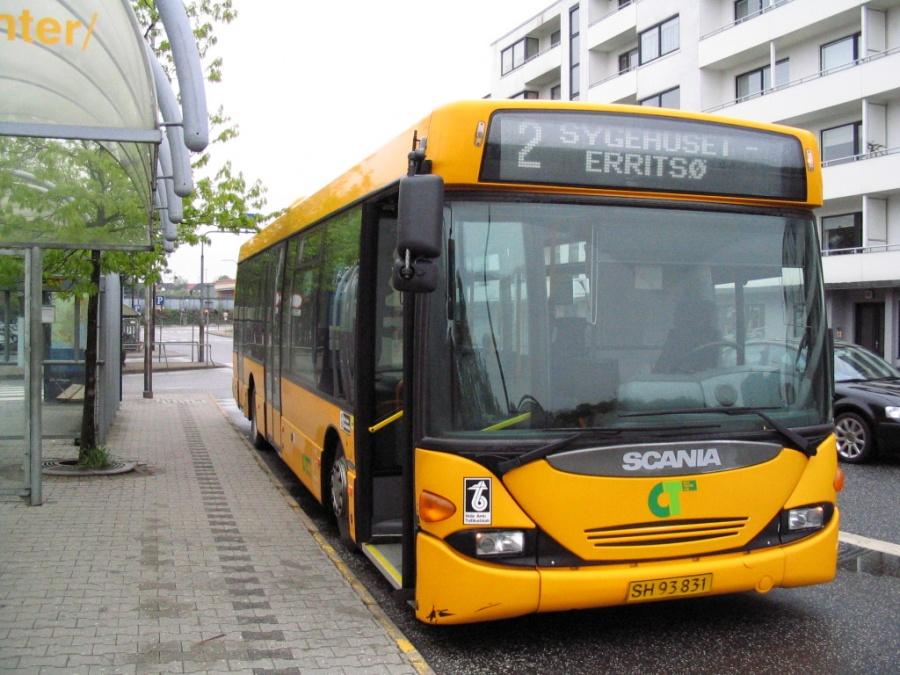 City-Trafik 132/SH93831 ved Fredericia St. den 15. maj 2006