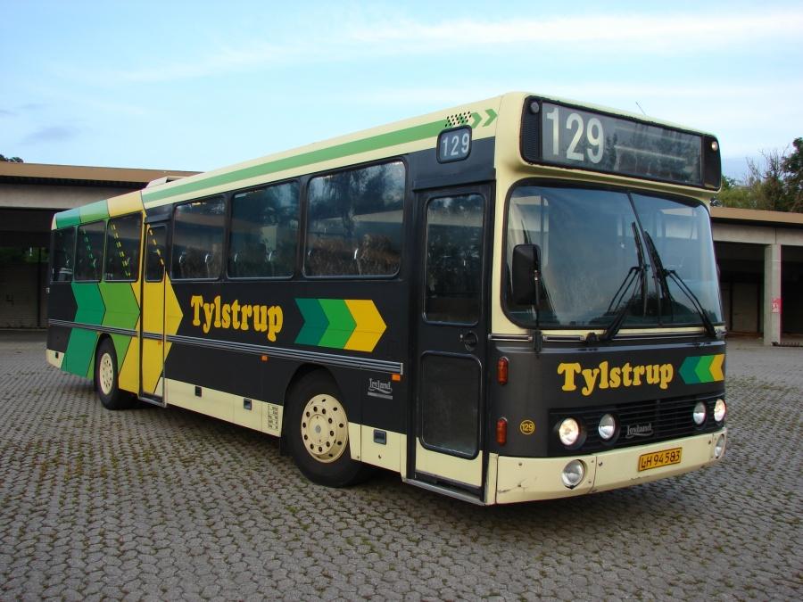 Ex. Nettbuss/Tylstrup 129/LH94583 i Sjælsmark den 12. juli 2011
