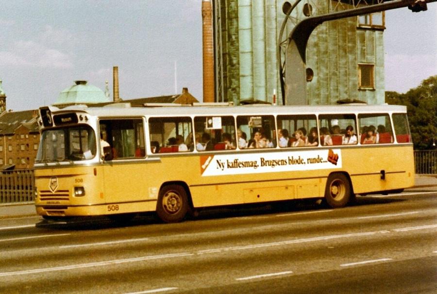 HT 508/AX91668 på Langebro i København den 6. juni 1980