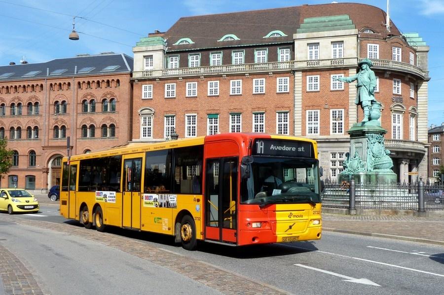 City-Trafik 2732/SR93057 på Holmens Kanal i København den 19. juli 2011