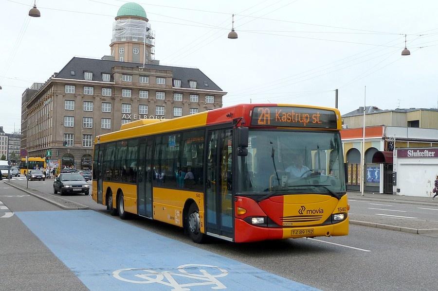 Arriva 1540/TZ89152 i Bernstorffsgade i København den 20. juli 2011