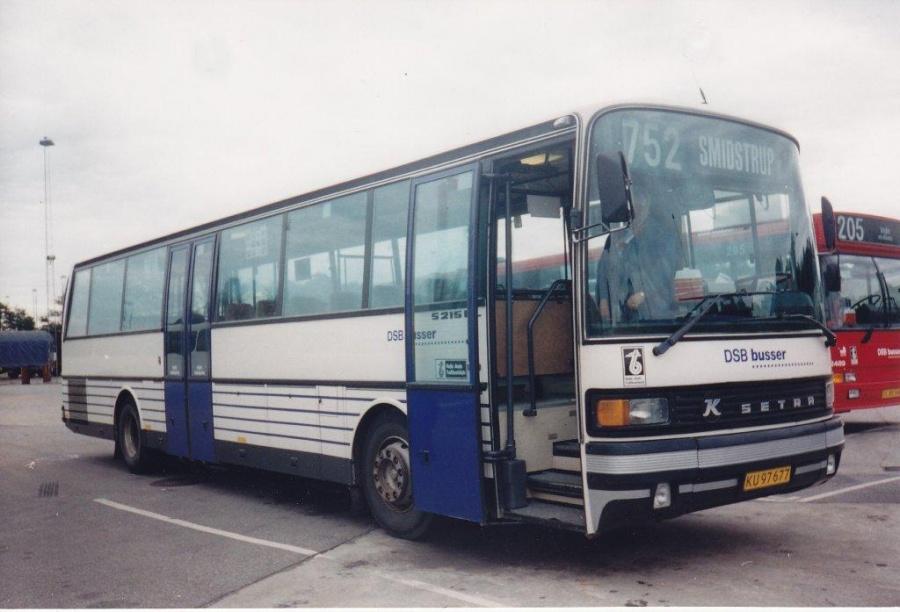 DSB 8115/KU97677 i garagen på Gammelhavn i Vejle