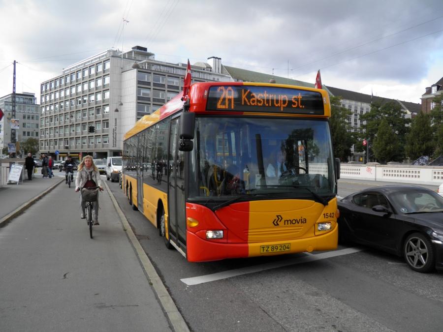 Arriva 1542/TZ89204 på Vandværksviadukten i København den 15. september 2011