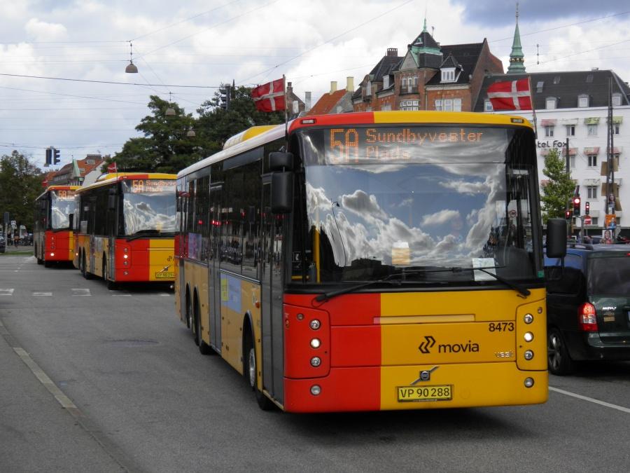 Nettbuss 8473/VP90288 i Hammerichsgade i København den 15. september 2011
