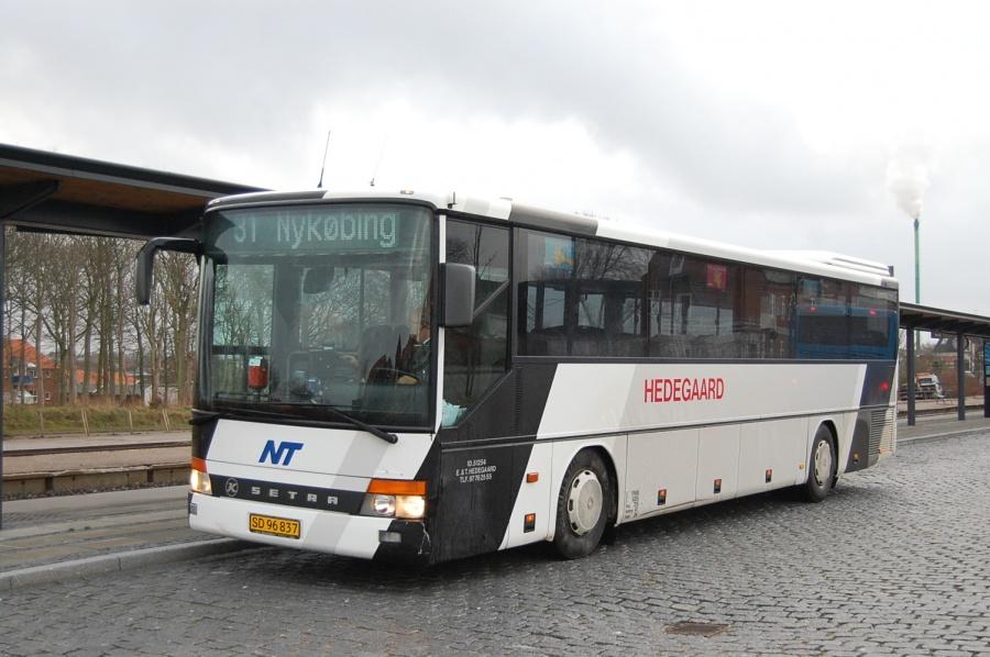 Hedegaard SD96837 ved Hurup Thy Station den 28. november 2008