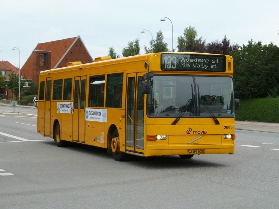 City-Trafik 2665/SJ89620 på Hvidovrevej i Hvidovre den 28. juli 2011