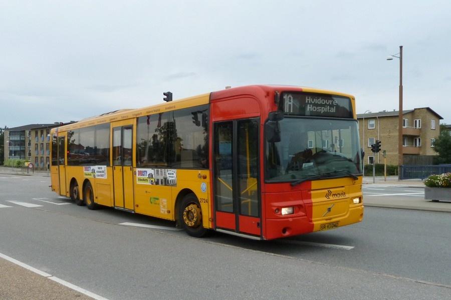 City-Trafik 2724/SR93040 på Hvidovrevej i Hvidovre den 28. juli 2011