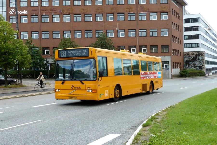 City-Trafik 2661/SJ89592 på Gammel Køge Landevej i Valby den 10. august 2011
