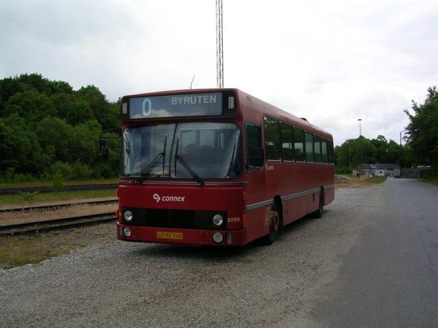 Connex 2099/LD92342 i garagen i Skanderborg den 12. juni 2004