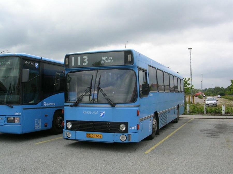 Connex 2465/OD92662 i Silkeborg den 18. juli 2004
