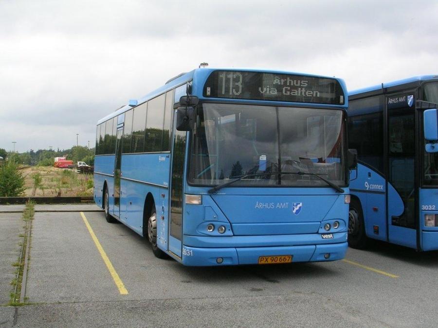 Connex 2631/PX90667 i Silkeborg den 18. juli 2004