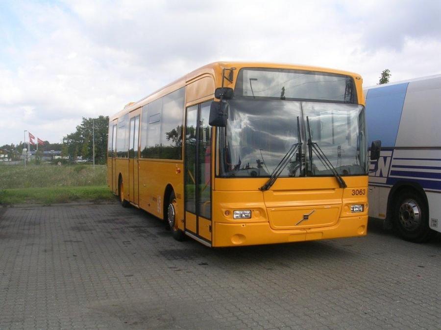 Arriva 3063 ved Bus Center Vest i Kolding den 5. september 2004