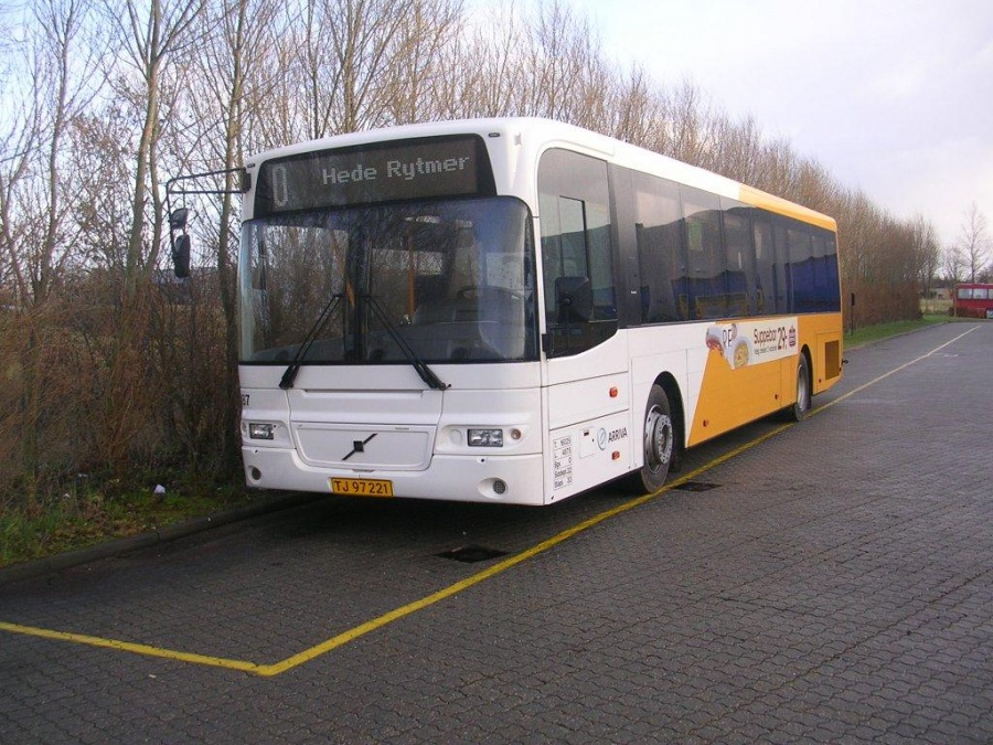 Arriva 2887/TJ97221 ved Bus Center Vest i Kolding den 27. november 2004
