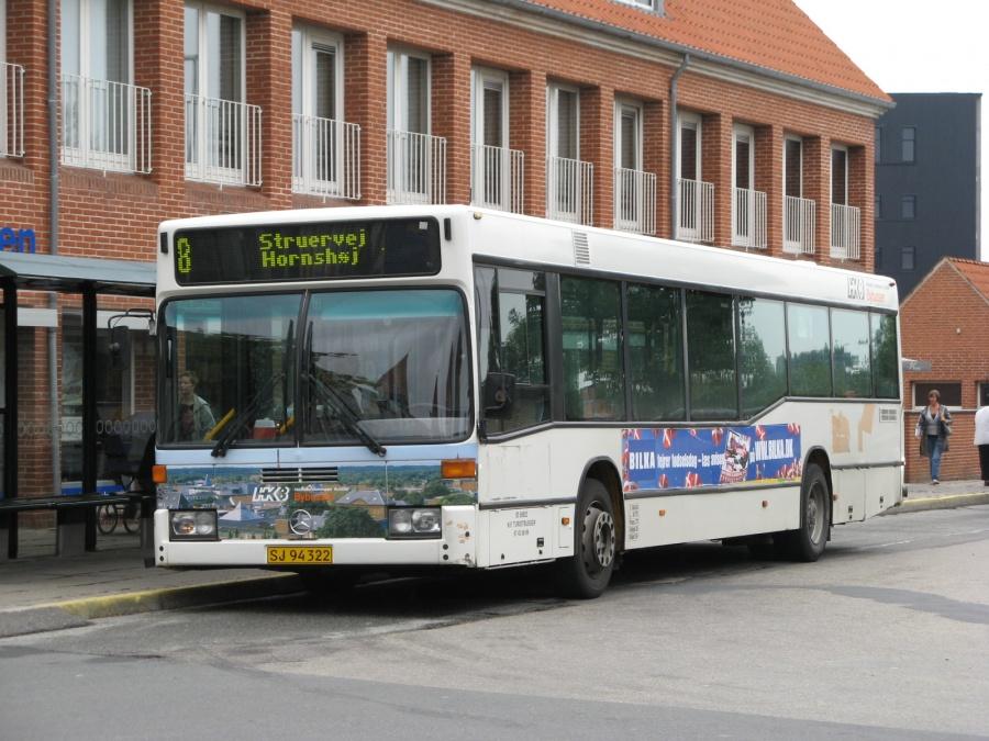 NF Turistbusser 34/SJ94322 i Slotsgade i Holstebro den 25. august 2008