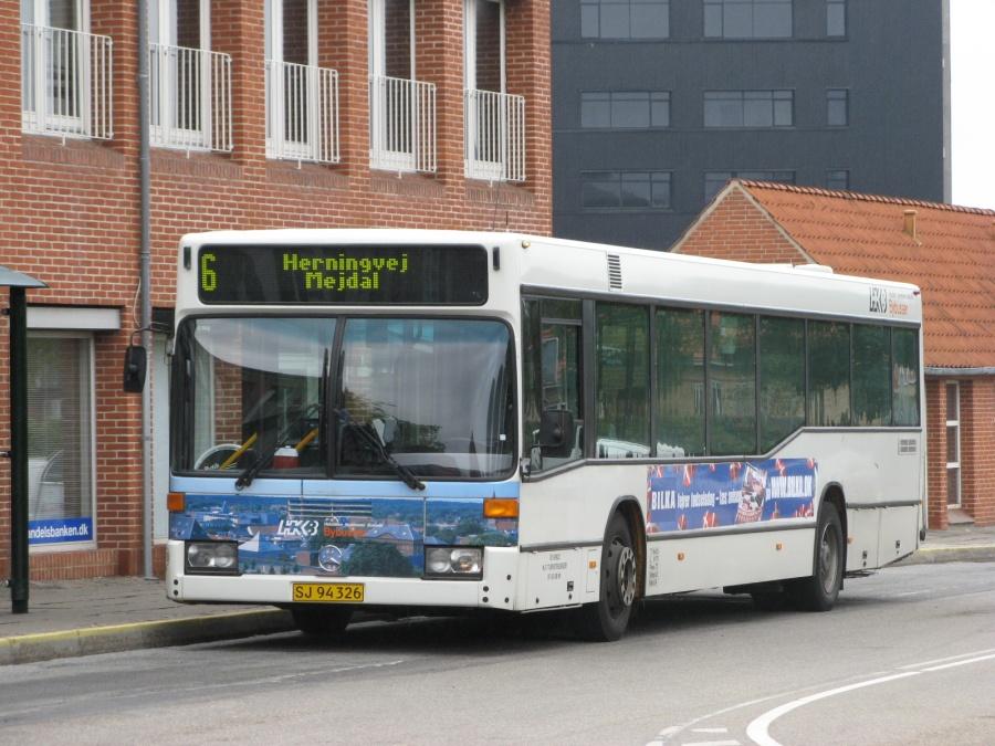 NF Turistbusser 38/SJ94326 i Slotsgade i Holstebro den 25. august 2008
