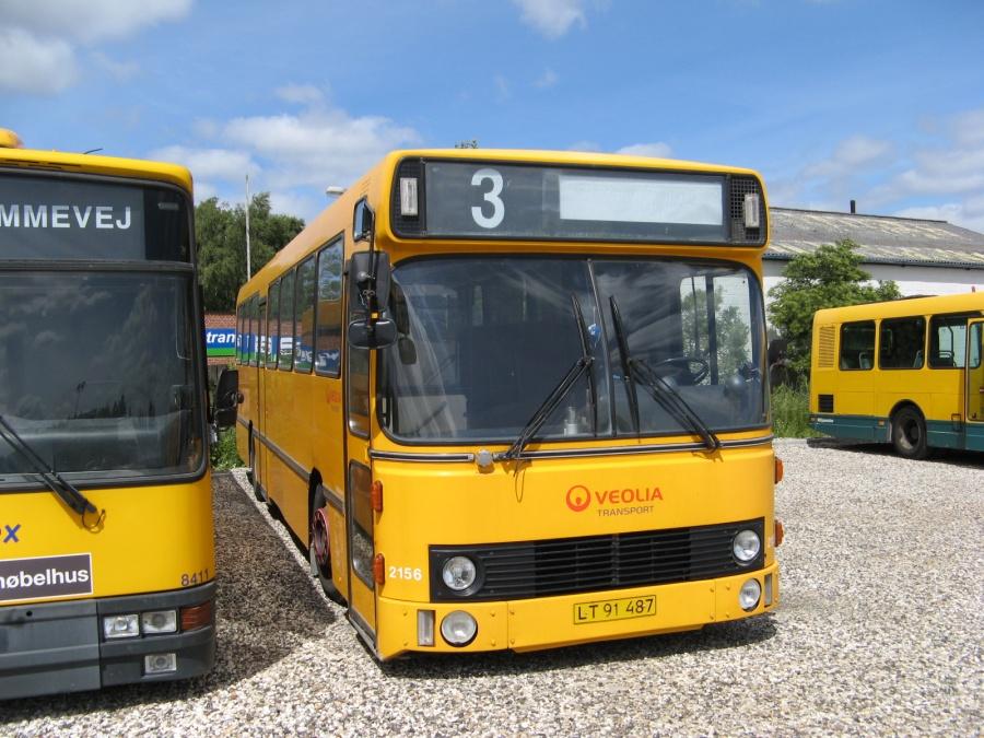 Veolia 2156/LT91487 i garagen i Randers den 28. juni 2007