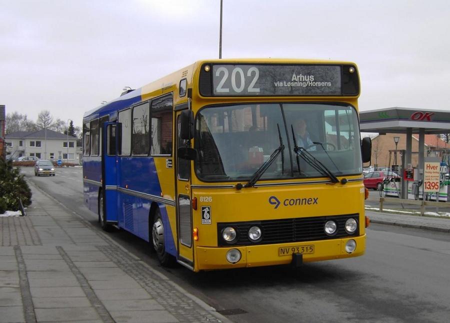 Connex 8126/NV93315 ved Brugsen i Løsning den 16. marts 2006