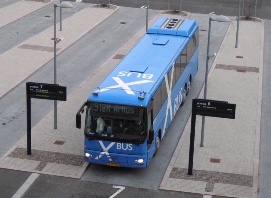 PP Busselskab 110/SL91192 på Aalborg Busterminal den 7. april 2006