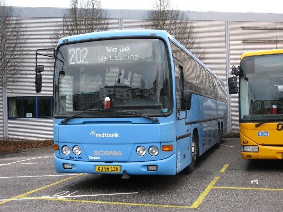 Bent Thykjær 110/XJ96126 i garagen i Vejle den 26. december 2011