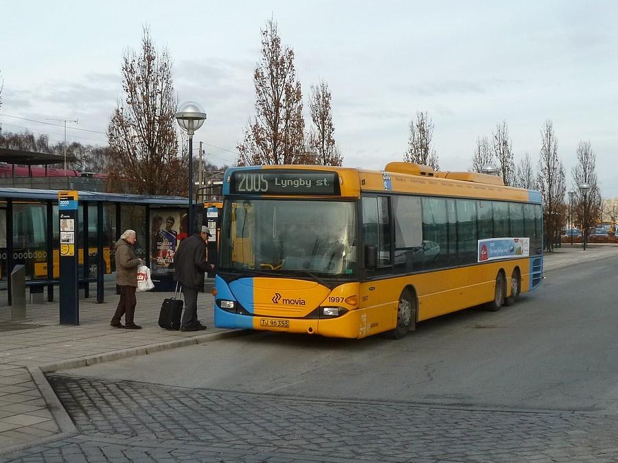 Arriva 1997/TJ96353 ved Friheden Station i Hvidovre den 20. februar 2012