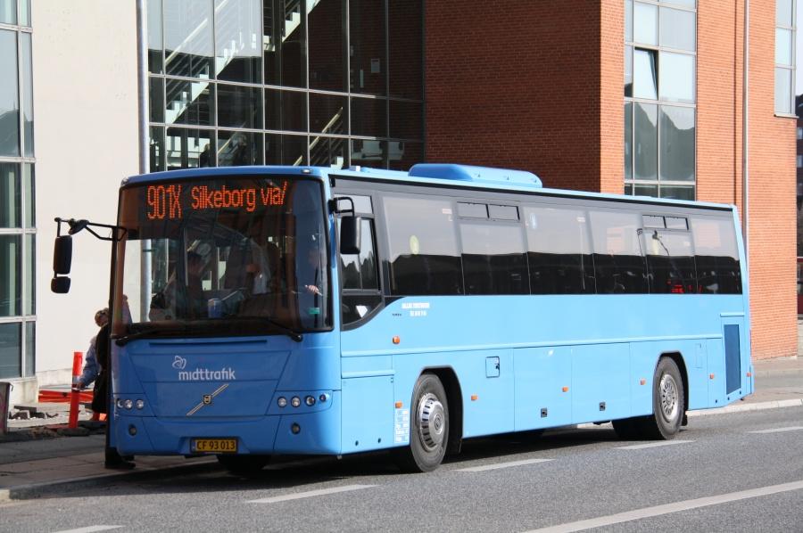 Malling Turistbusser 45/CF93013 på Randersvej i Århus den 26. marts 2012