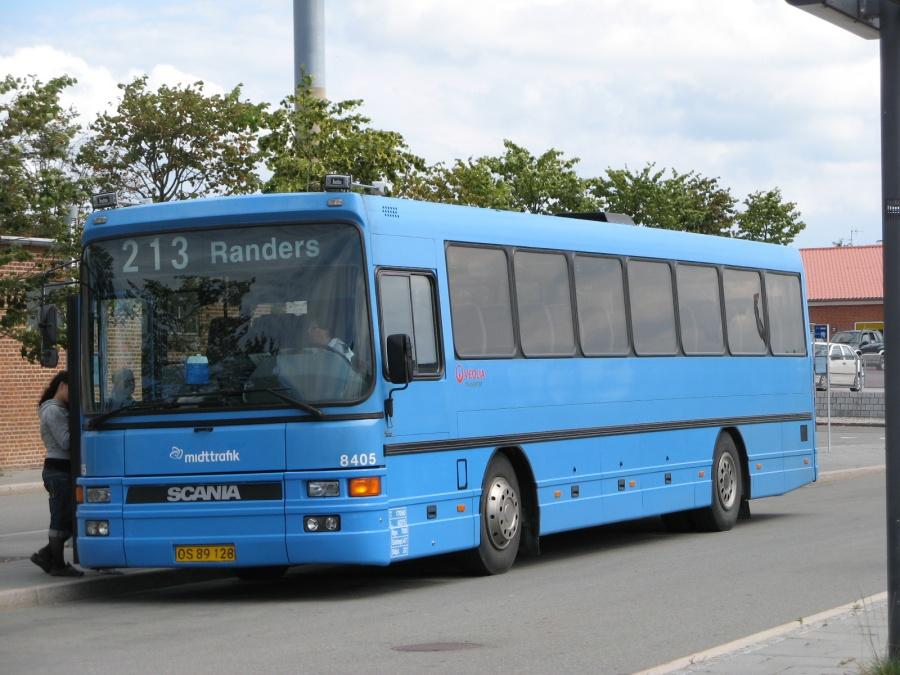 Veolia 8405/OS89128 på Grenaa Trafikterminal den 17. juli 2007