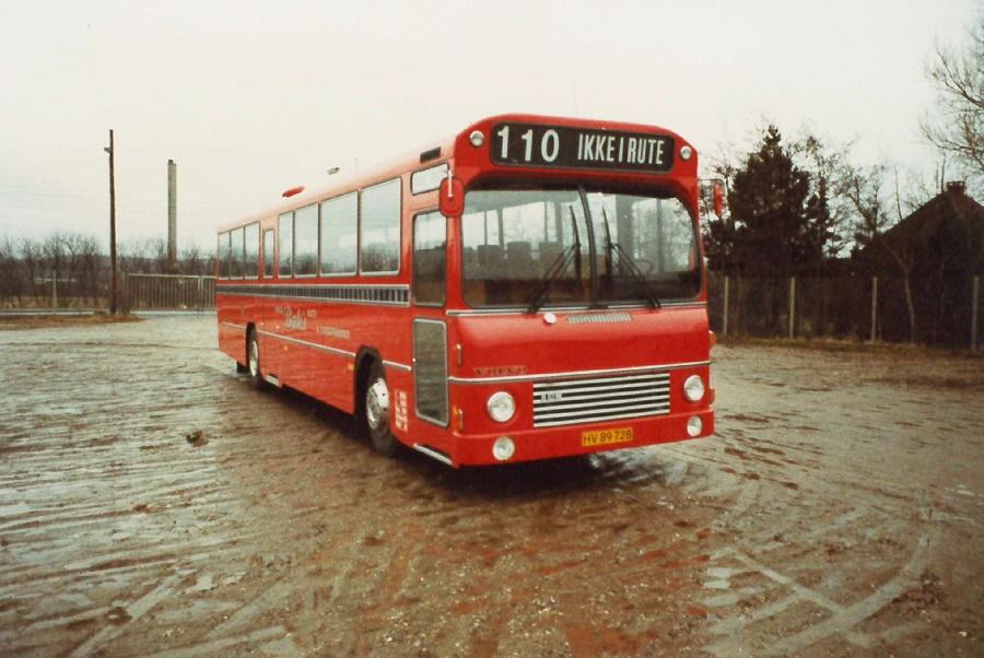 Knud Bæks Rute- og Turistbusser HV89728