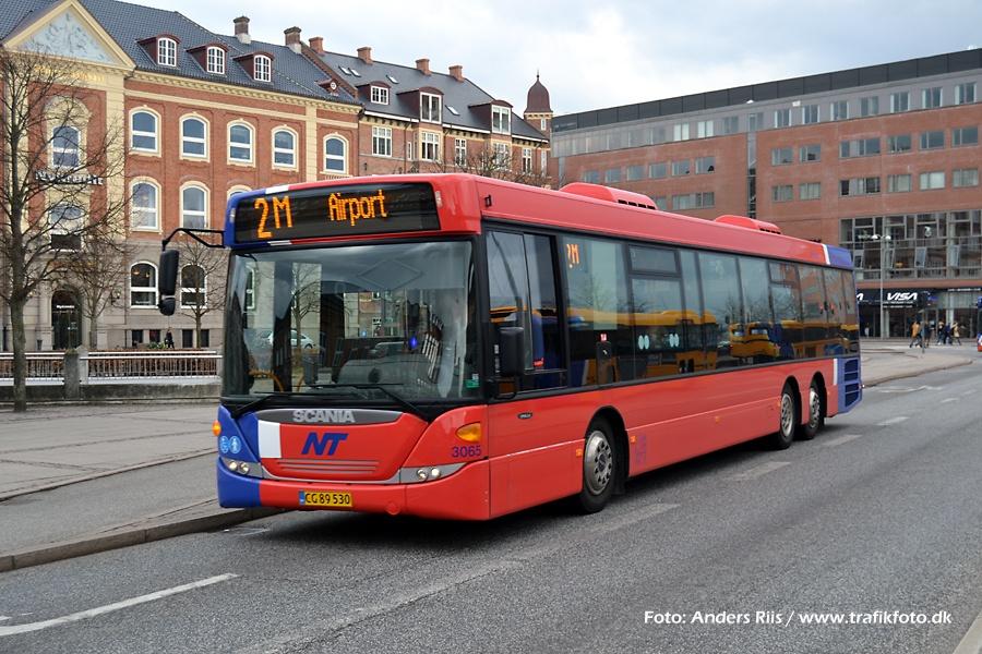 Arriva 3065/CG89530 ved banegården i Aalborg den 12. april 2012