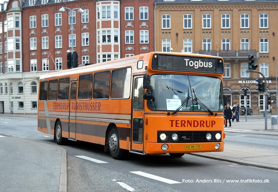 Terndrup Turistbusser XE96131 i Aalborg den 12. april 2012