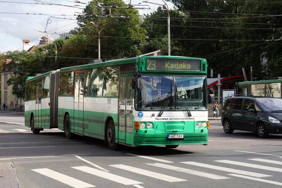 TAK 1447/447TAK i Tallinn i Estland den 9. september 2011