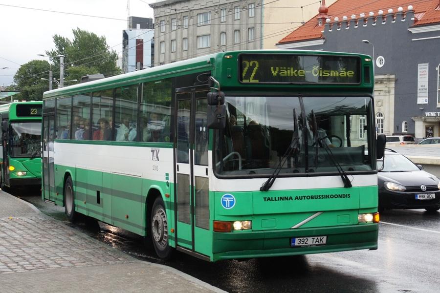 TAK 2392/392TAK i Tallinn i Estland den 9. september 2011