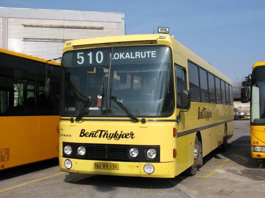 Bent Thykjær 107/NJ89131 i garagen i Vejle den 19. april 2012