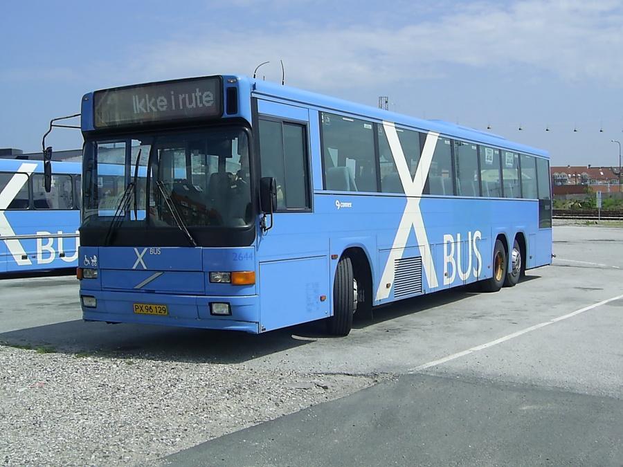 Connex 2644/PX96129 på Aalborg Busterminal den 20. juni 2005