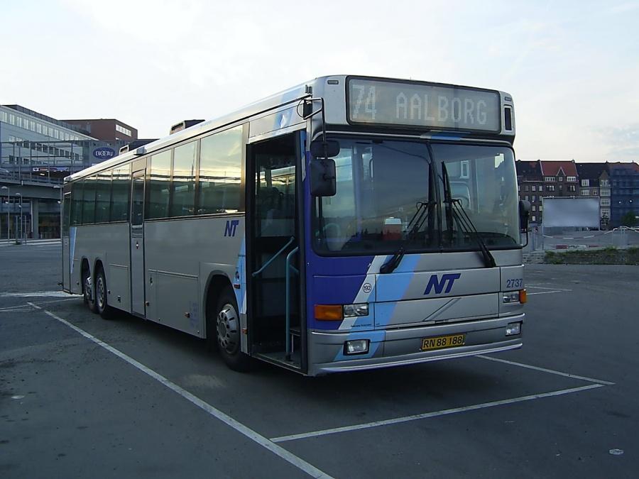 Tylstrup Busser 192/RN88188 på Aalborg Busterminal den 20. juni 2005
