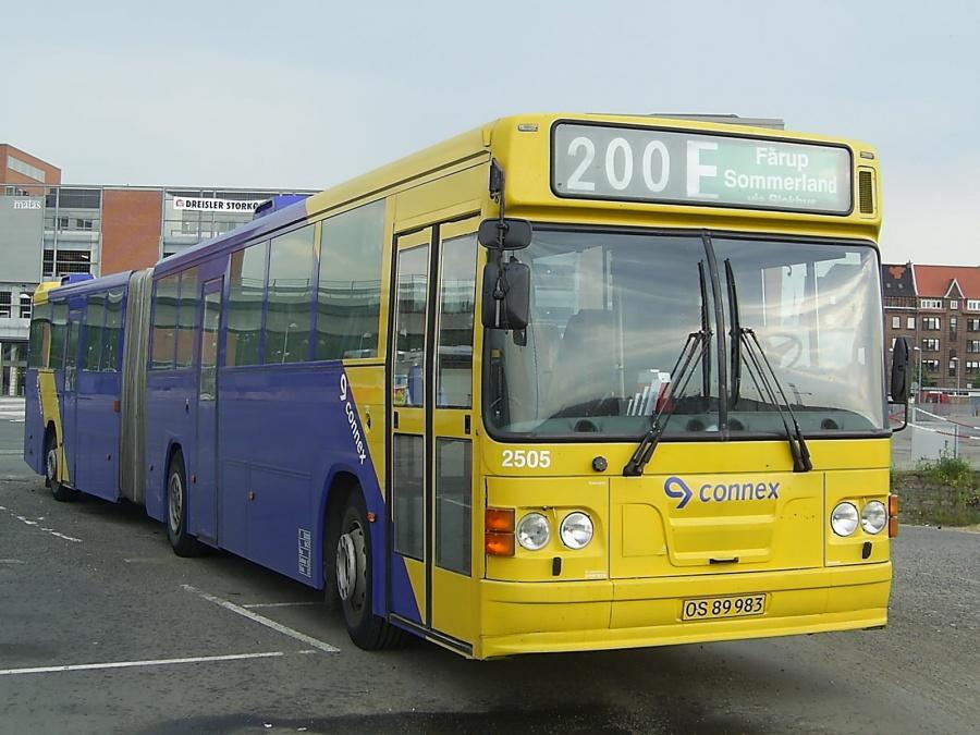 Connex 2505/OS89983 på Aalborg Busterminal den 21. juni 2005