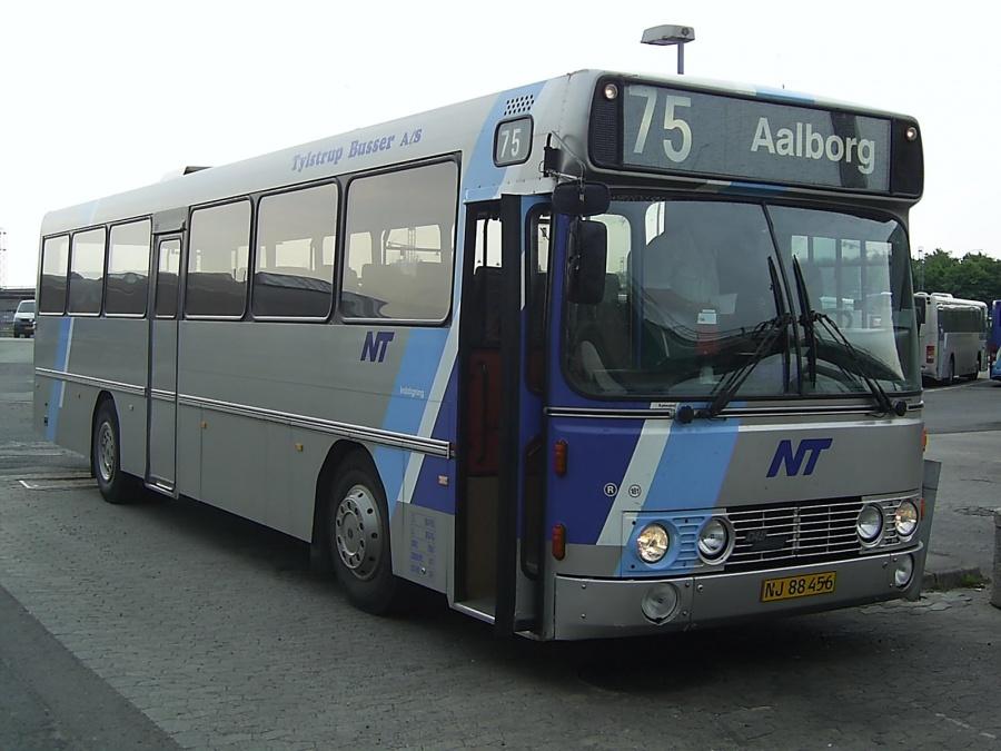 Tylstrup Busser 181/NJ88456 på Aalborg Busterminal den 21. juni 2005