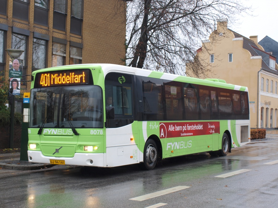 Tide Bus 8078/UK94141 i Middelfart den 10. november 2009