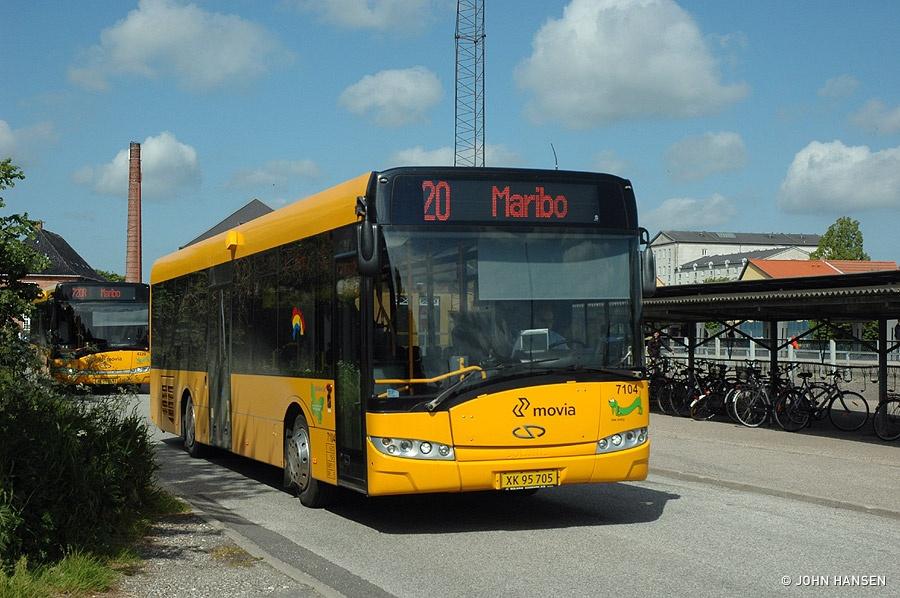 Kruse 7104/XK95705 ved Maribo Banegård den 9. juni 2012