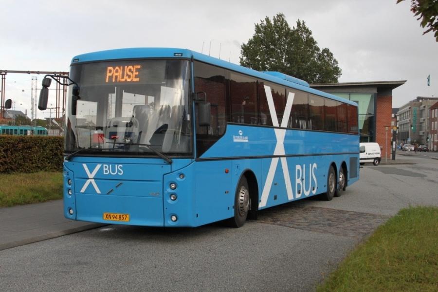 Rutebilselskabet Haderslev 1202/XN94857 ved Esbjerg station den 18. september 2012