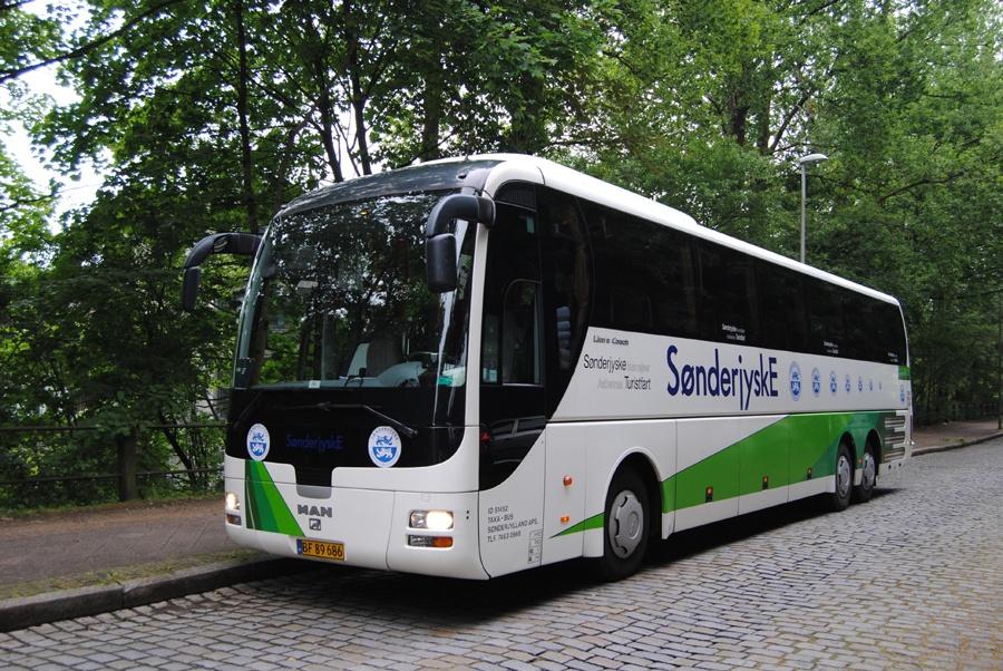 Sønderjyske Turistfart BF89686 i Flensburg i Tyskland den 25. juli 2015