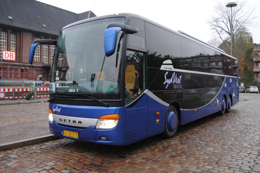 SydVest-Bus 16/VJ92072 i Flensburg i Tyskland den 1. november 2013