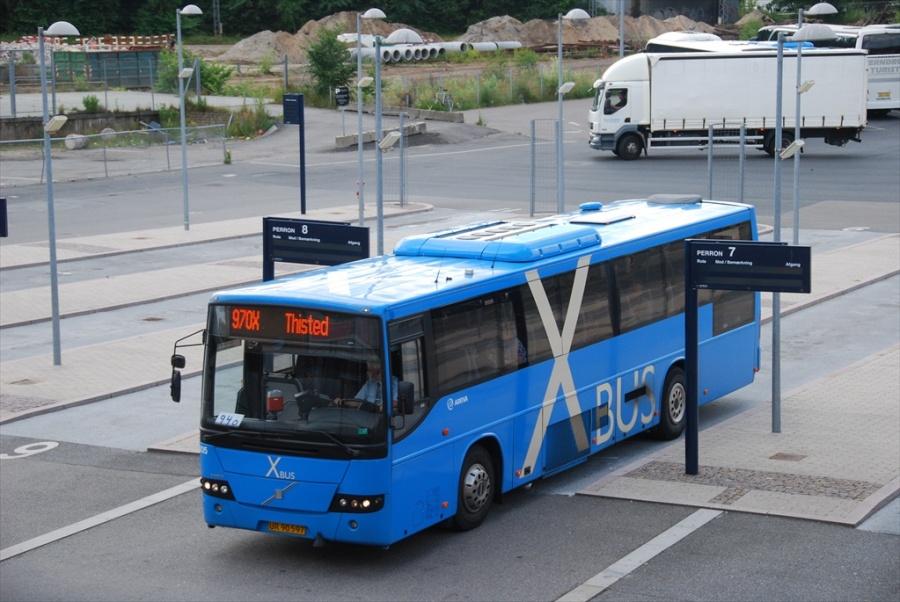 Arriva 8805/UR90597 ved Aalborg Rutebilstation den 9. juli 2012