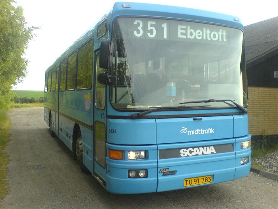 Arriva 8434/TU91783 den 14. juni 2007